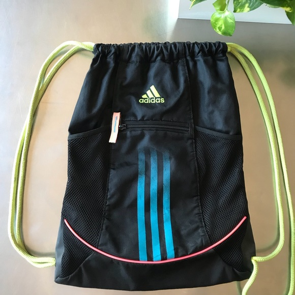 4161781b37f adidas Handbags - ⭐️ADIDAS drawstring bag, classic street style!